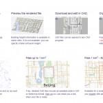 """""""ไฟล์ CAD ฟรี"""" 241 เมืองใหญ่ทั่วโลก"""