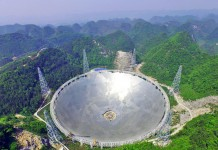 จีนสร้างกล้องโทรทรรศน์วิทยุ